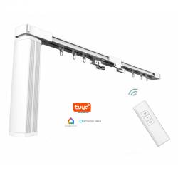 Omnisilent 2,12 m. WIFI elektrische gordijnrail Smart Home
